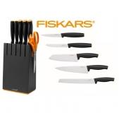 Набор ножей в чёрной подставке 5 шт. 1014190 - фото