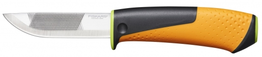 Нож для тяжелых работ с точилкой 1023619 - фото