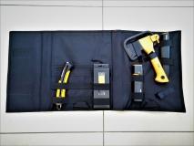 Промо-набор топор Х5 + точилка + пила + нож + внешний аккумулятор в сумке 1023888 - фото