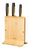 Ножи в блоке из бамбука, набор (3 шт.) FF 1057553 - фото