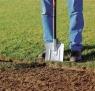 Лопата с закругленным лезвием, облегченная 131500 - фото