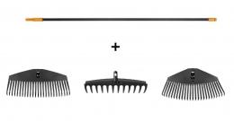 Набор граблей (черенок и три насадки) 135088 - фото