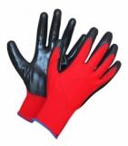 Перчатки нейлоновые с нитриловым покрытием, р-р XL 160111 - фото