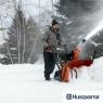 Бензиновый снегоуборщик Husqvarna st224 - фото