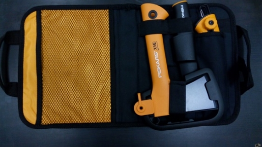 Набор туристический  (топор туристический X5 + нож + пила)арт. 129045 - фото