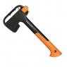 Набор: Топор X7-XS, нож универсальный садовый + точилка + сумка для инструментов 129998 - фото