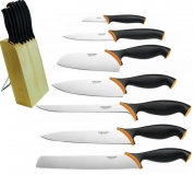 FF Набор: 7 ножей в подставке New - фото