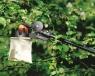 Набор: Телескопический садовый сучкорез + пила + корзинка 115561 - фото