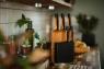 Ножи в блоке из бамбука, набор (5 шт.) FF 1057552 - фото