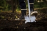 Телескопическая лопата с закругленным лезвием 1000620 (131310) - фото