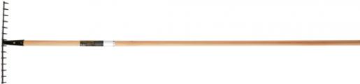 Грабли универсальные деревянный черенок SolidTM,  135751 - фото