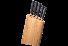 Набор ножей в блоке из бамбука 977891 - фото