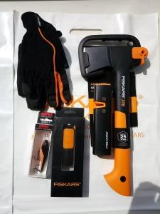 Промо-набор топор Х7 + точилка+ воблер + перчатки + внешний аккумулятор 1023999 - фото