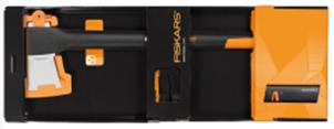 Промо-набор топор-колун Х21 + точилка+ перчатки в дисплее 1020178 - фото